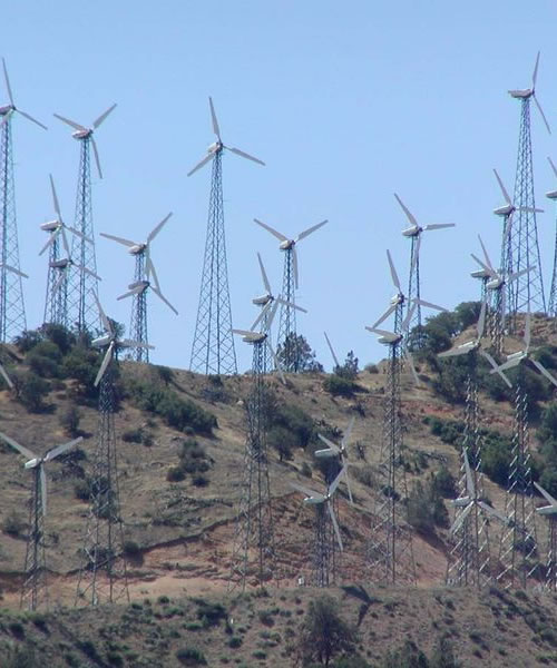 Wind energy, wind farm